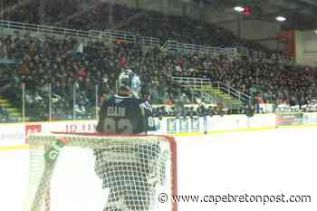 Sellout crowd watches Eagles defeat Rimouski at Centre 200 - Cape Breton Post