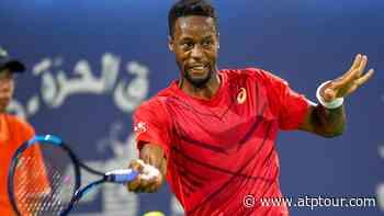 Gael Monfils Reaches Double Figures With Dubai Victory - ATP Tour