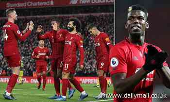 'We don't want them to win title': Paul Pogba admits Liverpool have one hand on the Premier League