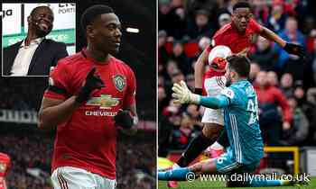'What is he here for? He needs to score goals': Saha blasts criticism of Martial's attitude