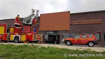 Les Pennes Mirabeau - Faits-divers - Pennes-Mirabeau. Les pompiers interviennent pour un feu de toiture - Maritima.Info - Maritima.info