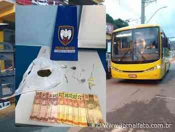 PM prende dois com drogas em ônibus, em Mimoso do Sul - Jornal FATO