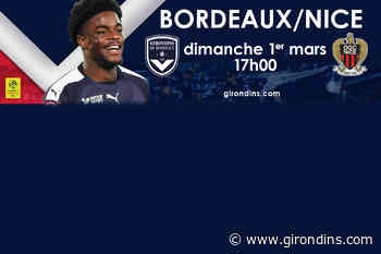 Poussez les Girondins face à Nice !