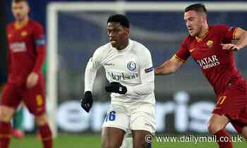Manchester United are monitoring Gent forward Jonathan David
