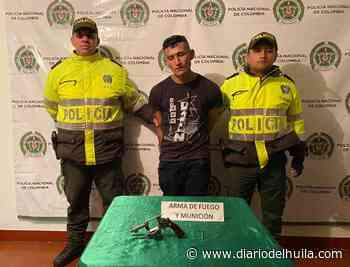 Capturado por porte ilegal de armas de fuego en San Agustin - Diario del Huila