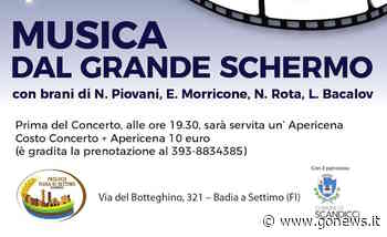 'Musica dal grande schermo' a Badia a Settimo - gonews.it - gonews