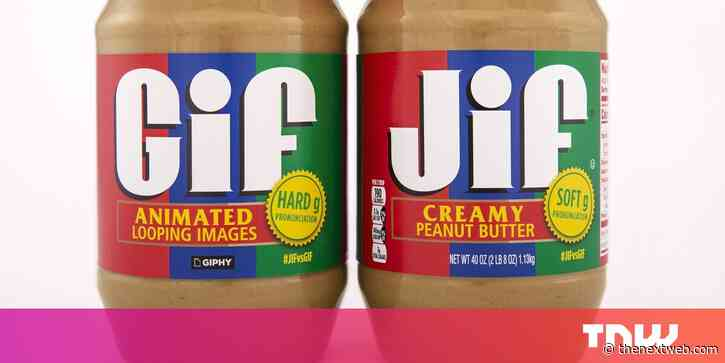 This Giphy/Jif peanut butter collab over GIF pronunciation is a no-brainer
