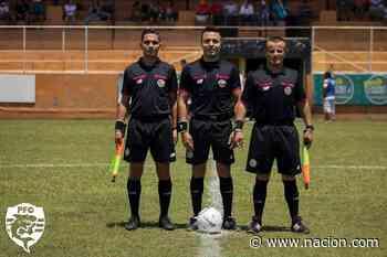 Árbitro golpeado en la Liga de Ascenso piensa en el retiro y en denunciar penalmente al agresor - La Nación Costa Rica
