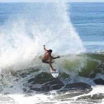El retiro de apoyo no frena al surfista ecuatoriano Jonathan Zambrano Chila - El Universo