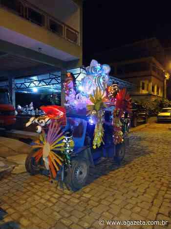 Em Alfredo Chaves, veículos usados na lavoura ganham fantasia de carnaval - A Gazeta ES