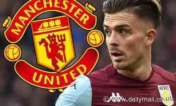Man United ramp up interest in Aston Villa ace Jack Grealish