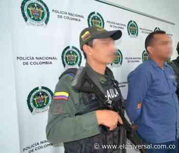 Capturan a presunto extorsionista en Mamonal | EL UNIVERSAL - Cartagena - El Universal - Colombia