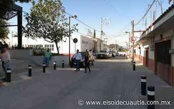 Habitantes de Anenecuilco estrenan calles - El Sol de Cuautla