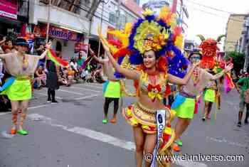 En San Lorenzo del Pailón se armó carnaval con bailes locales y colombianos - El Universo