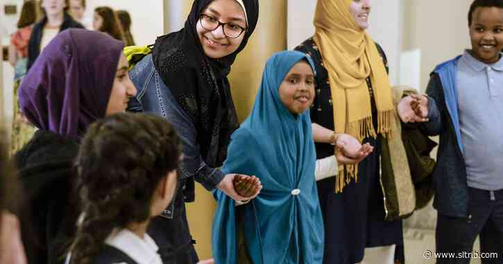 Utah Muslims gather at the state Capitol to encourage muslim civic engagement