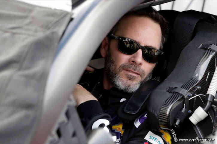 Alexander: Jimmie Johnson's NASCAR farewell tour starts in Fontana