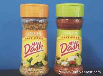 Mrs. Dash Seasoning Is Getting A New Name After Almost 40 Years - Simplemost
