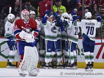 #ICYMI: Habs blow another lead, lose in OT to Canucks