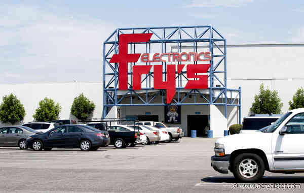 Fry's Electronics in Anaheim to close March 2