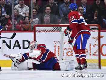 In the Habs' Room: 'We have to get that last goal,' Max Domi says
