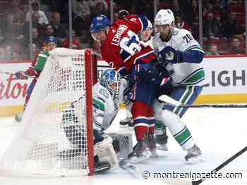 Canadiens Game Day: Habs come up short in OT against Canucks