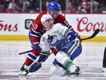 About Last Night: Domi was the Habs' best player against Vancouver, but it wasn't enough