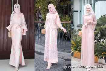 Charming! Ini 5 Dress Hijab Warna Salem Pink yang Feminin & Manis! - CewekBanget