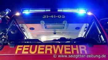 Autohof Wendhausen: Feuerwehr löscht Garagenbrand