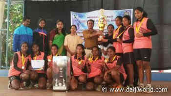 Mangaluru: St Agnes College (Autonomous) ground witnesses competitive Throwball tourney - Daijiworld.com