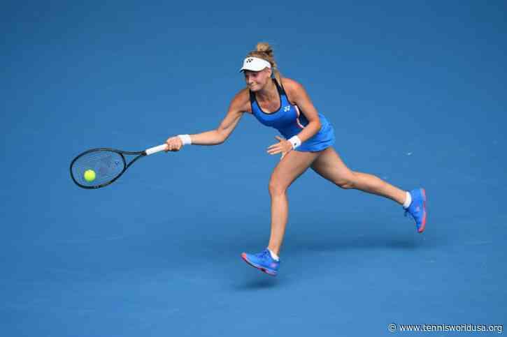 WTA Doha: Dayana Yastremska downs struggling Australian Open champion Sofia Kenin