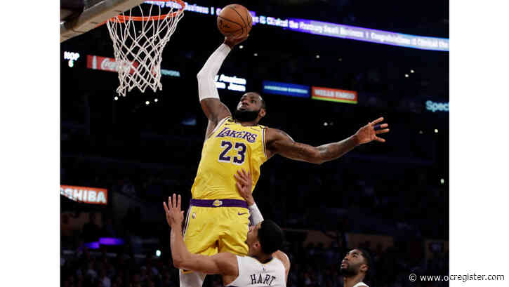 LeBron James scores 40 as Lakers top Zion Williamson, Pelicans