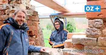 Sicherungsarbeiten an der Wollscheune in Bad Doberan - Ostsee Zeitung