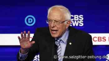 Zehnter Fernsehauftritt: Sanders bei TV-Debatte der US-Demokraten unter Beschuss
