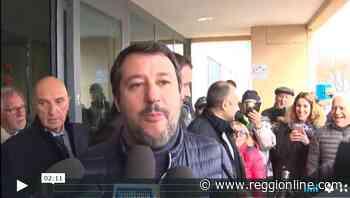 """Elezioni regionali, Salvini a Viano: """"Servono infrastrutture per le aziende"""". VIDEO - Reggionline"""
