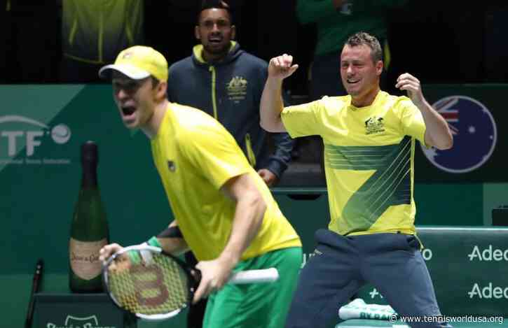 Australian Captain Lleyton Hewitt happy with his team for Brazil tie