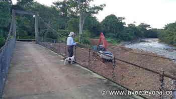 Recuperado puente peatonal en Nunchía, tras riesgo de colapso. - Noticias de casanare - La Voz De Yopal