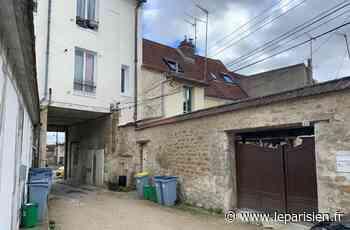 La cour d'un immeuble s'effondre, cinq logements évacués à Viarmes - Le Parisien