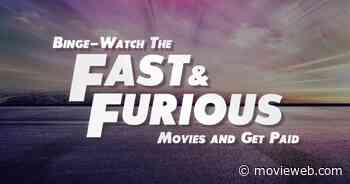 Binge-Watching Every Fast & Furious Movie Could Earn One Lucky Fan $900