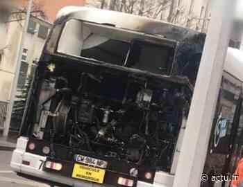 Laxou : un bus du réseau Stan prend feu, les passagers échappent aux flammes - actu.fr