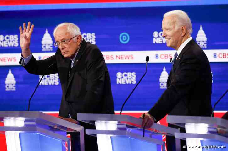 Sanders faces brunt of the attacks at South Carolina debate