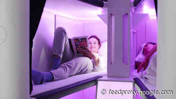 Air New Zealand designs sleep pods for economy cabin