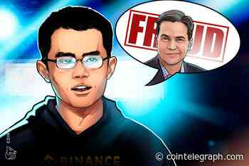 Binance CEO Changpeng Zhao Explains Why Craig Wright Is 'A Disgrace'