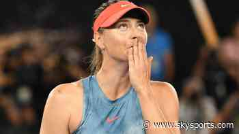 'I'm saying goodbye' - Sharapova retires from tennis