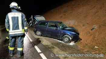Unfall in Bad Hersfeld: B27 war voll gesperrt - Zwei Verletzte | Bad Hersfeld - hersfelder-zeitung.de