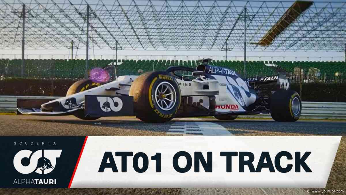 KICKING OFF F1 2020 | The AT01 Hits The Track