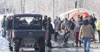 Kahnawake protesters defy injunction as railway blockade continues