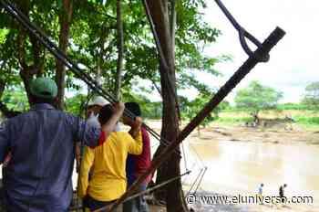 269 familias incomunicadas por ríos desbordados en Pedro Carbo - El Universo