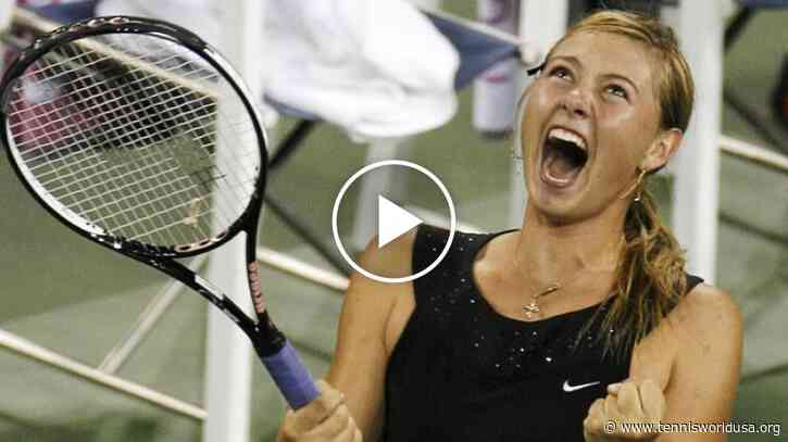 All Maria Sharapova's Slam match-points