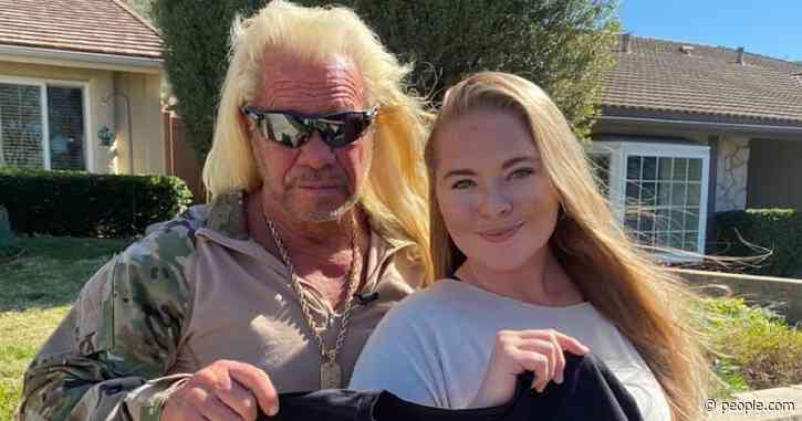 Dog the Bounty Hunter and Daughter Cecily Show Off T-Shirt in Honor of Late Wife Beth Chapman