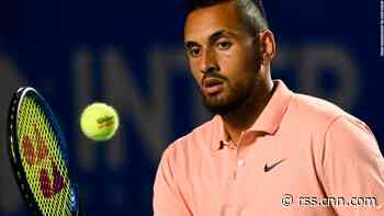 Nick Kyrgios gives expletive-laden media conference after being booed off court